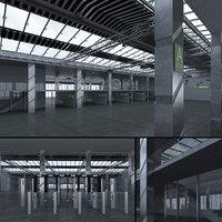 scene hall exhibition 3D
