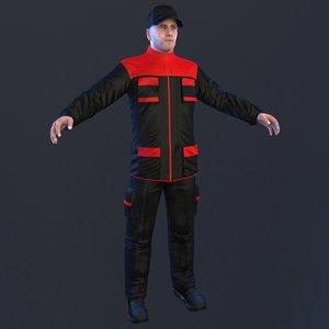mechanic 2 3D model