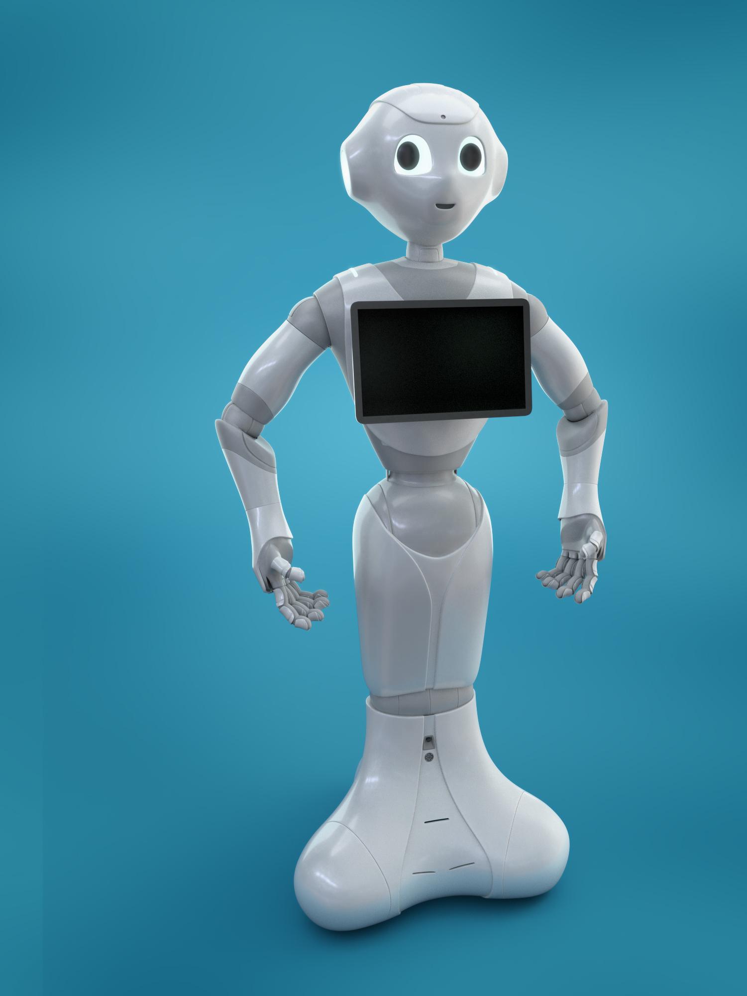 Resultado de imagem para pepper robot
