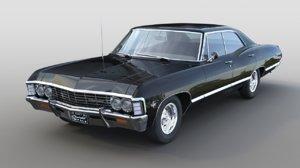 1967 chevrolet impala 3D model