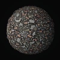 Debris Piles PBR seamless textures 4K