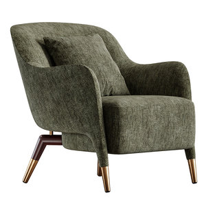 3D molteni armchair chair model