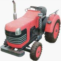 3D tractor model