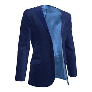 men suit jacket 3D