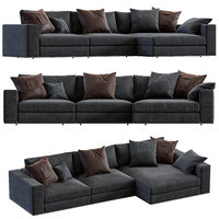sofa minotti hamilton 3D model