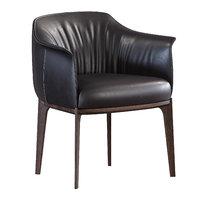 3D archibald dining chair poltrona frau model