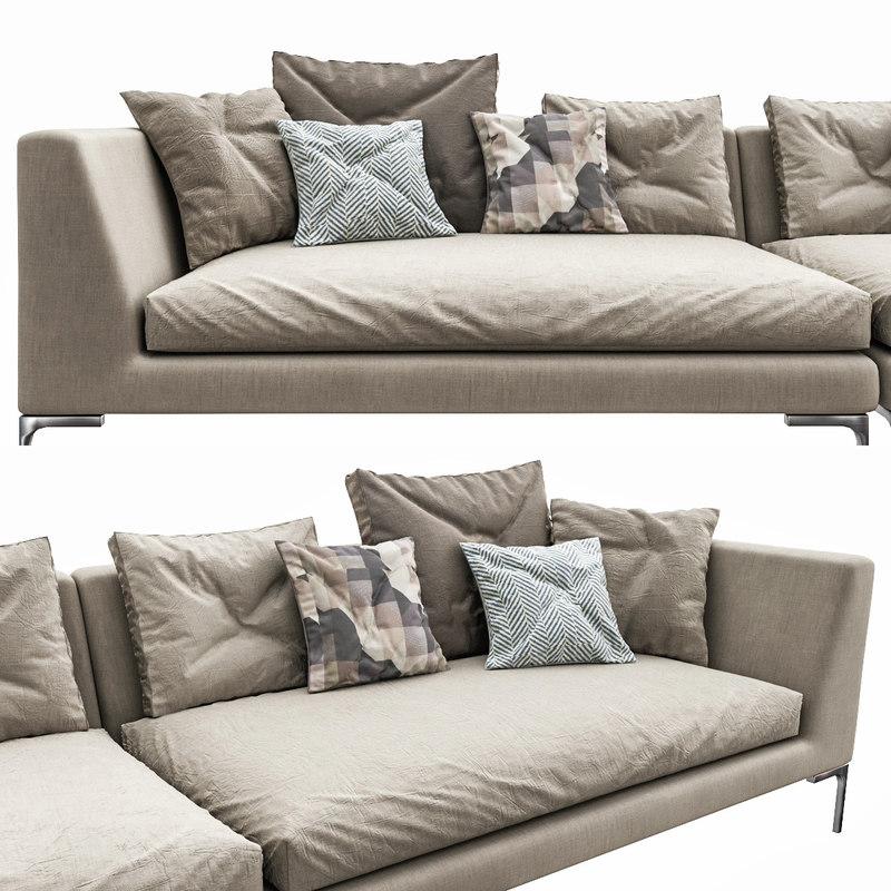 3d Sofa Charles Turbosquid 1412482
