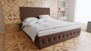 3D bed pillows blanket mattress