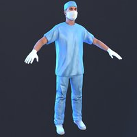 3D model surgeon 2019