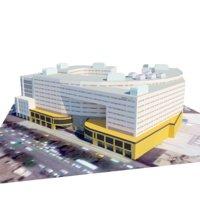 shopping mashhad 3D model