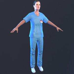 3D nurse 2019