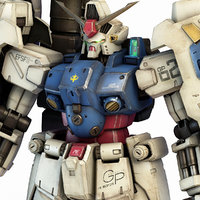 3D rx-78 gp02a gundam physalis model