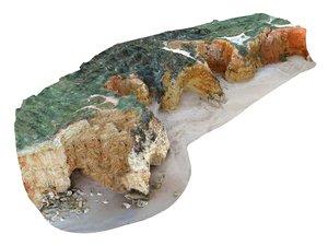 ocean cliff 16k 1 3D model