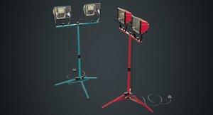 3D mobile construction light 1a