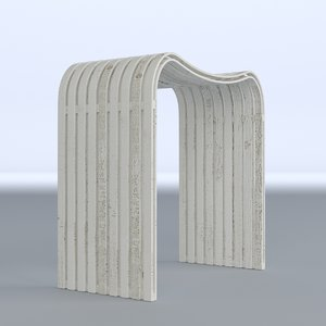 bathroom stool 3D model