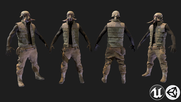 3D armor 9 model