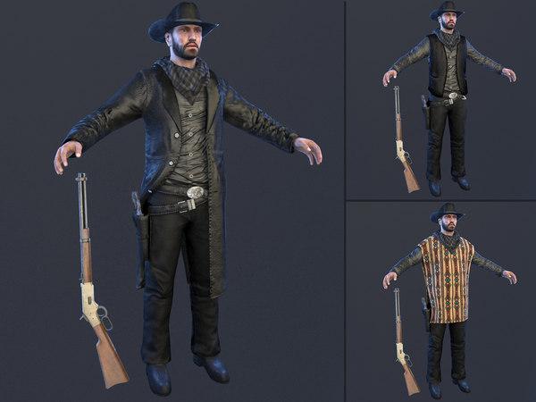 cowboy hat 3D