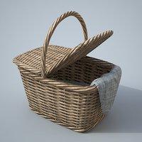3D basket modelled