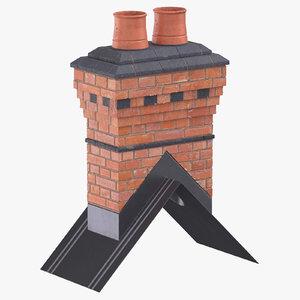 chimney 04 model