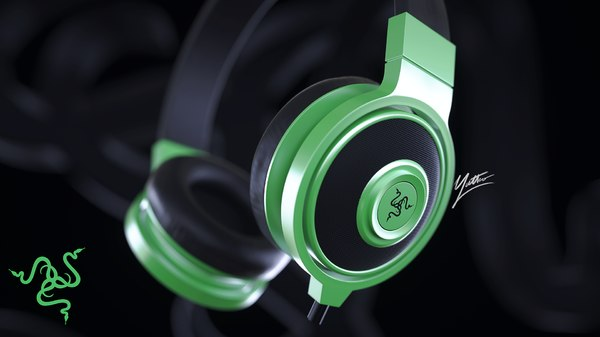 3D razer headphones