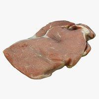 rump steaks 3D model