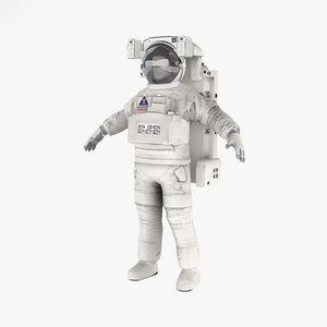 3D astronaut eva