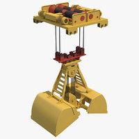 3D overhead crane