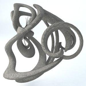 3D - sci-fi