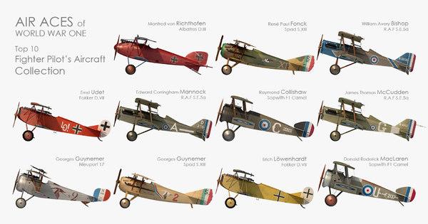 3D aces aircraft r f