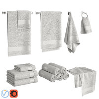 set towels model