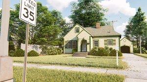 brooklyn house 3D