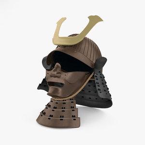 3D helmet armor armour model