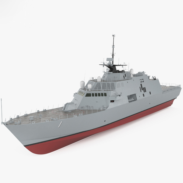 3D uss freedom lcs-1