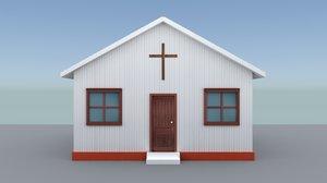 small church 3D model