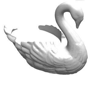 decoy 3D model
