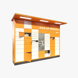 3D parcel lockers