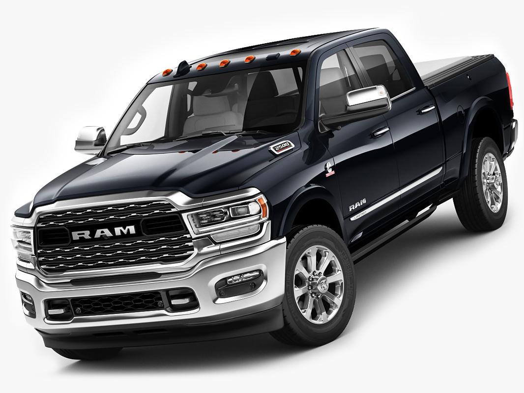 ram 2500 hd 3D model