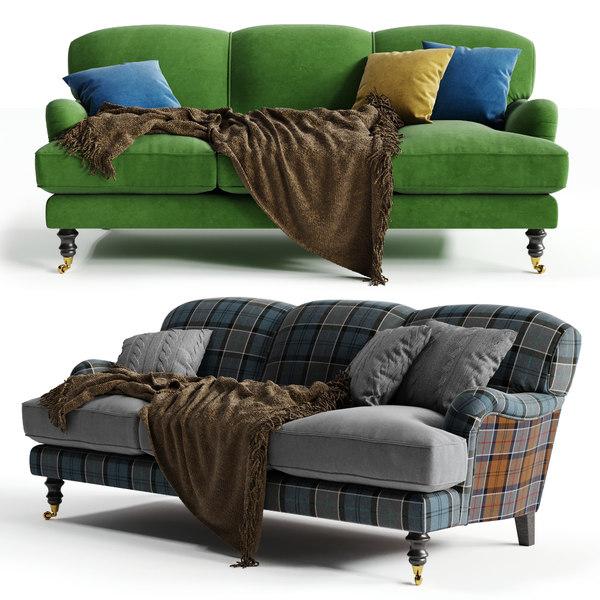 sofa workshop lady 3D model