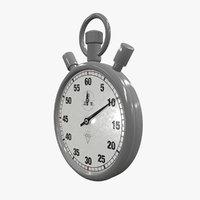 stop watch sto 3D model