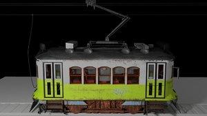electric train rails model