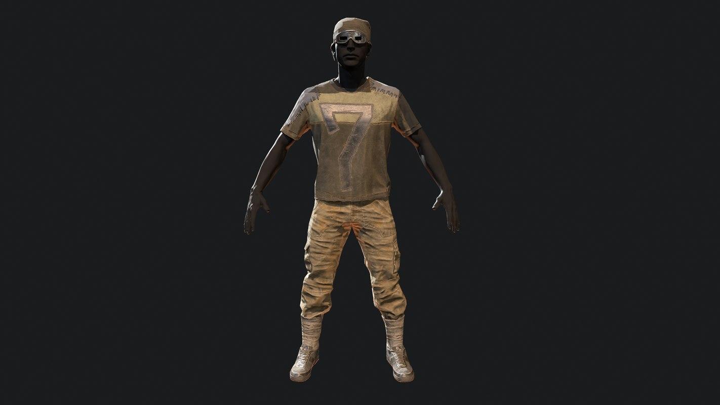 3D armor model