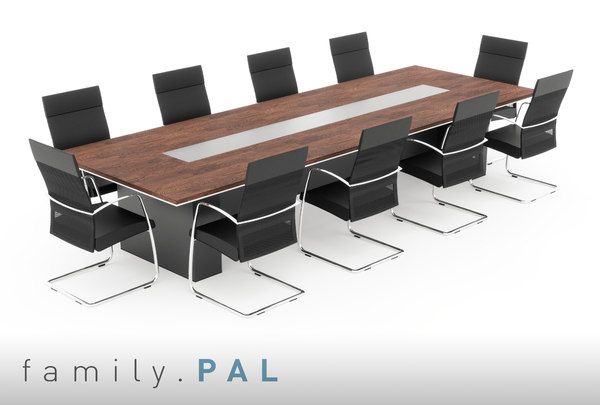 3D parametric conference table