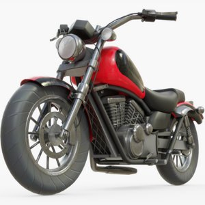 motorcycle cycle generic 3D
