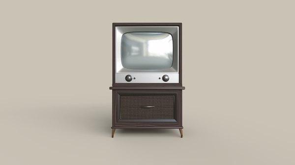 classic television 3D