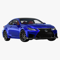 2020 lexus rc f 3D model