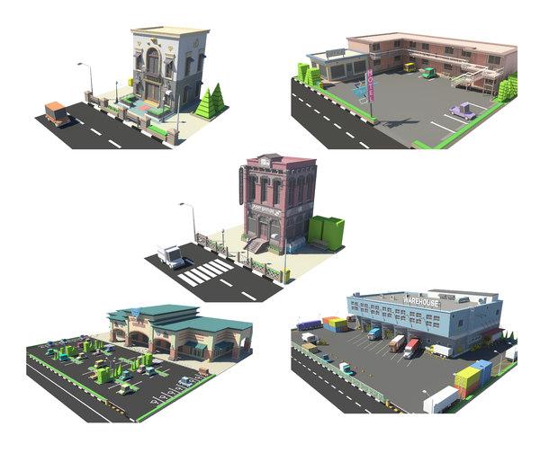 3D fivestore06 store