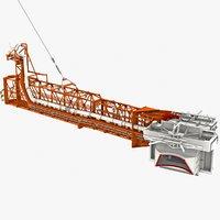 swing arm 9 apollo 3D model