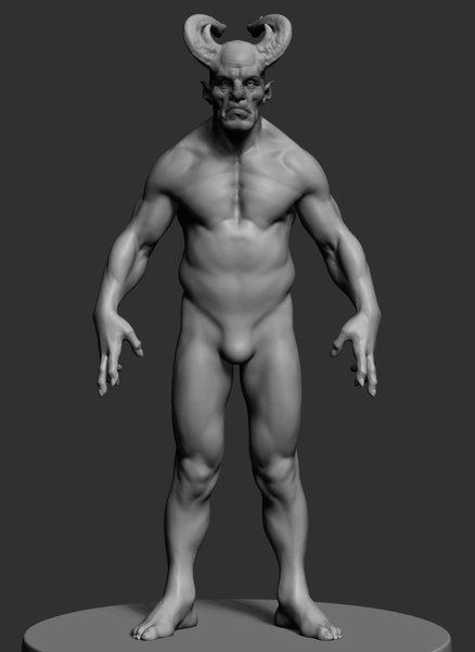 3D creature reference ztl model