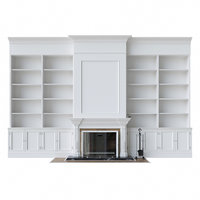 Shelving Fireplace
