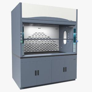 3D laboratory hood generic